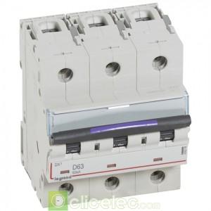DX3 3P D63 50KA 410219 Legrand Disjoncteurs PH+N