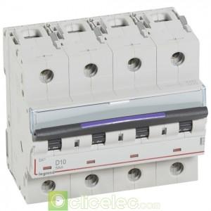 DX3 4P D10 50KA 410225 Legrand Disjoncteurs PH+N
