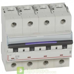 DX3 4P D16 50KA 410226 Legrand Disjoncteurs PH+N