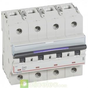 DX3 4P D40 50KA 410230 Legrand Disjoncteurs PH+N