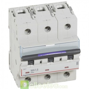 DX3 3P MA1.6 50KA 410246 Legrand Disjoncteurs PH+N