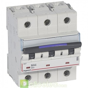 DX3 3P MA4 50KA 410248 Legrand Disjoncteurs PH+N