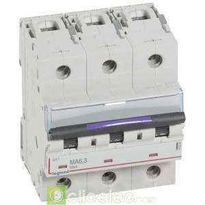DX3 3P MA6.3 50KA 410249 Legrand Disjoncteurs PH+N