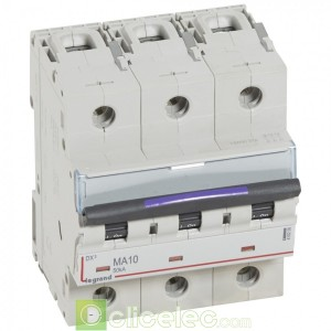 DX3 3P MA10 50KA 410250 Legrand Disjoncteurs PH+N