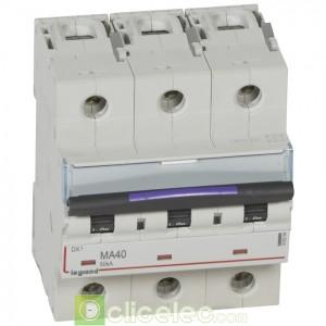 DX3 3P MA40 50KA 410254 Legrand Disjoncteurs PH+N