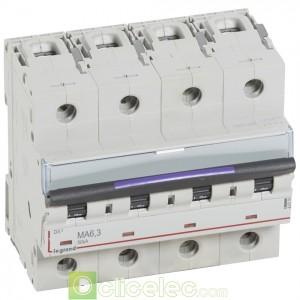 DX3 4P MA6.3 50KA 410259 Legrand Disjoncteurs PH+N