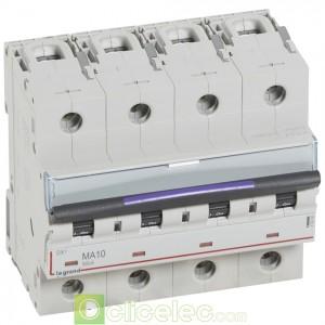 DX3 4P MA10 50KA 410260 Legrand Disjoncteurs PH+N