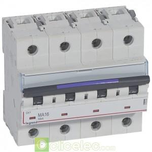 DX3 4P MA16 50KA 410262 Legrand Disjoncteurs PH+N