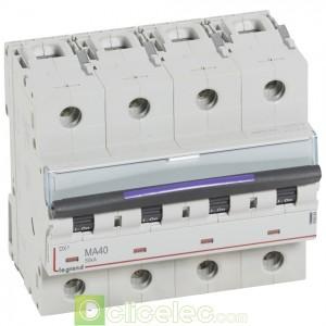 DX3 4P MA40 50KA 410264 Legrand Disjoncteurs PH+N