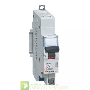 DNX3 1P+NG C2 4500A AUTO 1M 406780 Legrand Disjoncteurs PH+N