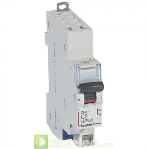 DNX3 1P+NG C6 4500A AUTO 1M 406781 Legrand Disjoncteurs PH+N