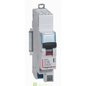 DNX3 1P+NG C16 4500A AUTO 1M 406783 Legrand Disjoncteurs PH+N