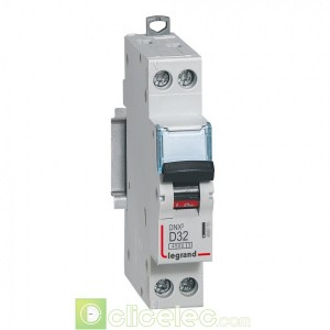DNX3 1P+NG D32 4500A 1M 406805 Legrand Disjoncteurs PH+N