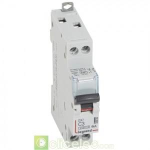 DX3 1P+NG C3 4500A/6KA 406863 Legrand Disjoncteurs PH+N