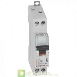 DX3 1P+NG C40 4500A/6KA 406873 Legrand Disjoncteurs PH+N