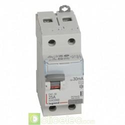 Interrupteur différentiel DX3-ID 2P 25A AC 30MA - 411504 Legrand