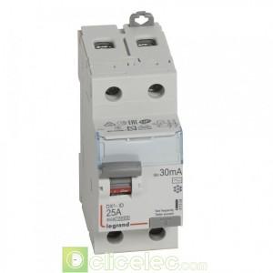 DX3-ID 2P 25A AC 30MA - 411504 Legrand Interrupteur Différentiel