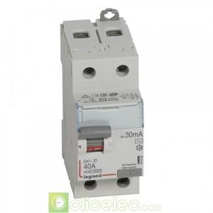 DX3-ID 2P 40A AC 30MA - 411505 Legrand Interrupteur Différentiel