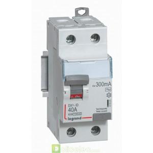 DX3-ID 2P 40A AC 300MA - 411525 Legrand Interrupteur Différentiel