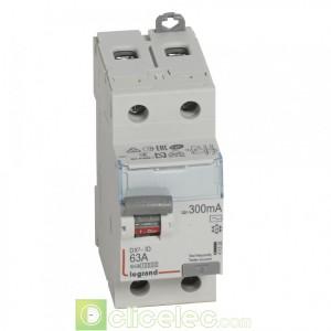 DX3-ID 2P 63A AC 300MA - 411526 Legrand Interrupteur Différentiel
