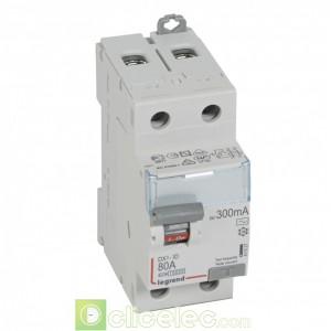 DX3-ID 2P 80A AC 300MA - 411527 Legrand Interrupteur Différentiel