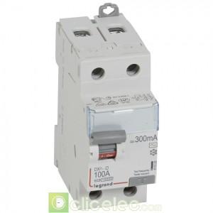 DX3-ID 2P 100A AC 300MA - 411528 Legrand Interrupteur Différentiel