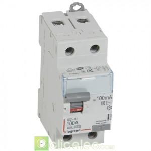 DX3-ID 2P 100A AC-S 100MA - 411537 Legrand Interrupteur Différentiel