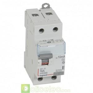 DX3-ID 2P 16A A 10MA - 411550 Legrand Interrupteur Différentiel