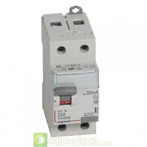 DX3-ID 2P 25A A 30MA - 411554 Legrand Interrupteur Différentiel