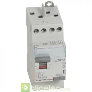 DX3-ID 2P 25A AC 30MA TG - 411610 Legrand Interrupteur Différentiel