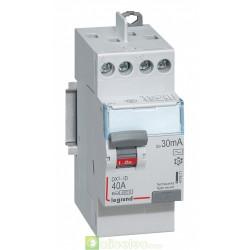 Interrupteur différentiel DX3-ID 2P 40A AC 30MA TG - 411611 Legrand