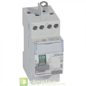 DX3-ID 2P 25A AC 300MA TG - 411613 Legrand Interrupteur Différentiel