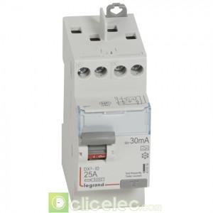 DX3-ID 2P 25A A 30MA TG - 411616 Legrand Interrupteur Différentiel