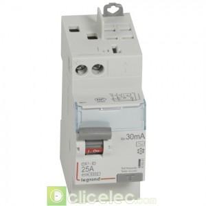 DX3-ID 2P 25A AC 30MA TGA - 411631 Legrand Interrupteur Différentiel