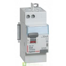Interrupteur différentiel DX3-ID 2P 40A AC 30MA TGA - 411632 Legrand