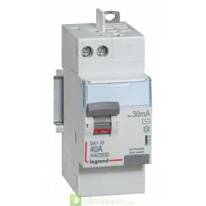 DX3-ID 2P 40A AC 30MA TGA - 411632 Legrand Interrupteur Différentiel