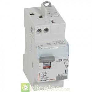 DX3-ID 2P 25A AC 300MA TGA - 411634 Legrand Interrupteur Différentiel