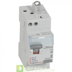 DX3-ID 2P 40A AC 300MA TGA - 411635 Legrand Interrupteur Différentiel