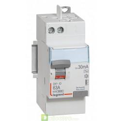 Interrupteur différentiel DX3-ID 2P 63A AC 30MA TGA - 411650 Legrand