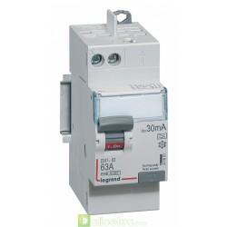 Interrupteur différentiel DX3-ID 2P 63A A 30MA TGA - 411651 Legrand
