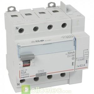 DX3-ID 4PG 63A HPI 30MA TGA - 411659 Legrand Interrupteur Différentiel