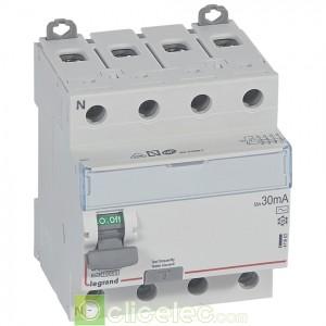 DX3-ID 4PG 80A AC 30MA - 411663 Legrand Interrupteur Différentiel