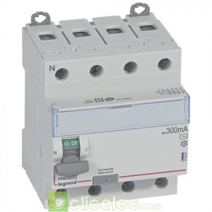 DX3-ID 4PG 80A AC 300MA - 411667 Legrand Interrupteur Différentiel