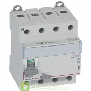 DX3-ID 4PG 25A A 30MA - 411674 Legrand Interrupteur Différentiel