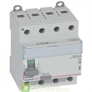 DX3-ID 4PG 25A A 300MA - 411684 Legrand Interrupteur Différentiel