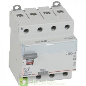 DX3-ID 4PG 40A A 300MA - 411685 Legrand Interrupteur Différentiel