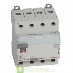 DX3-ID 4PG 25A HPI 30MA - 411694 Legrand Interrupteur Différentiel