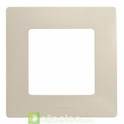 PLAQUE SIMPLE IVOIRE 665011