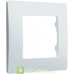 PLAQUE SIMPLE BLANC 665001