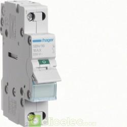 Interrupteur 1P 16A SBN116 Hager